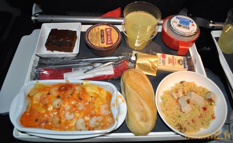 repas noel 2018 paris Test : le repas de Noël du vol New York/Paris par Air France | MiamZ repas noel 2018 paris