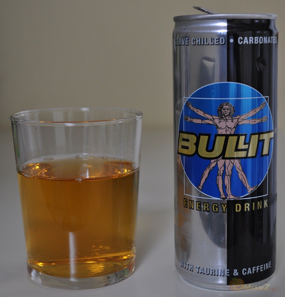 test bullit l 39 energy drink de vitruve miamz. Black Bedroom Furniture Sets. Home Design Ideas