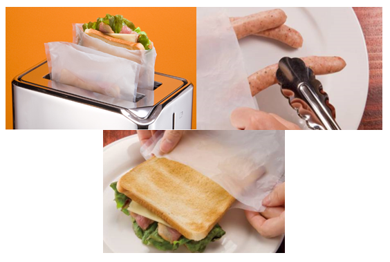 Toast it transforme un grill pain en four ou grill miamz - Sachet cuisson croque monsieur grille pain ...