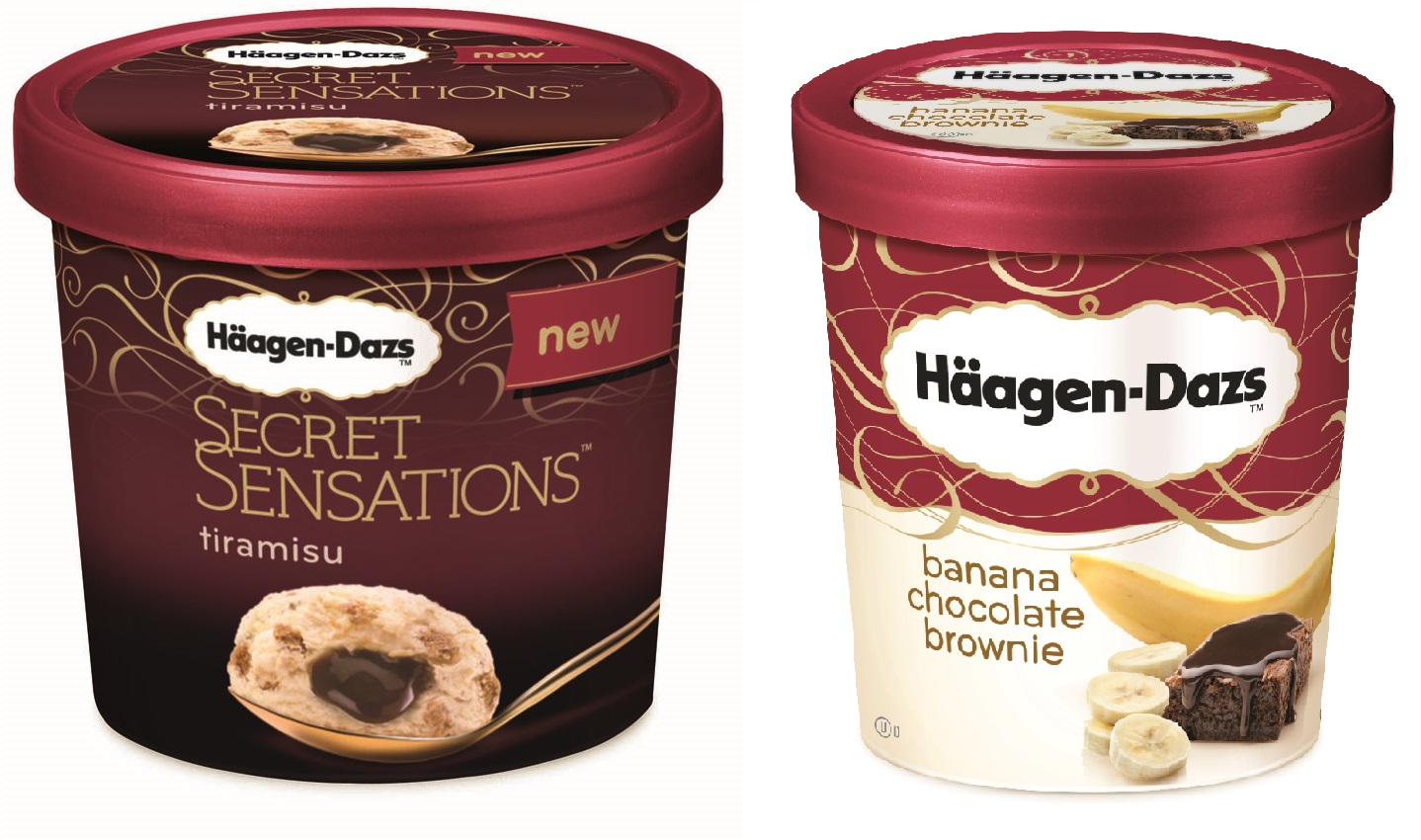 Häagen Dazs secretsensationtiramisubananabrownie